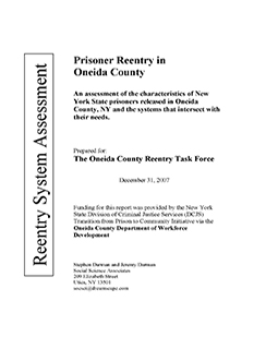 Prisoner Reentry in Oneida County
